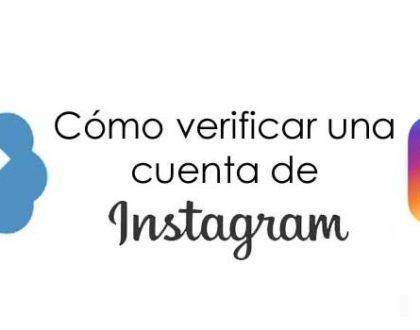 Verifica tu cuenta de Instagram, paso a paso.